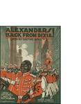 Alexander's back From Dixie (With His Ragtime Band) / music by Pete Wendling; words by Lew Colwell by Pete Wendling, Lew Colwell, and Lee S. Roberts (Chicago)