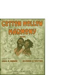 Cotton Hollow Harmony / music by Richard A. Writing; words by Chas A. Mason by Richard A. Writing, Chas A. Mason, and Jerome H. Remick and Co. (Detroit)