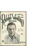 Rodolph Valentino Blues / music by Jack Frost; words by Jack Frost by Jack Frost and Jack Mills Inc. (New York)