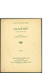 Water Boy / words by Avery Robinson by Avery Robinson and Winthrop Rogers Ltd.