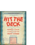 Hit The Deck / music by Vincent Youmans; words by Leo Robinson and Clifford Grey