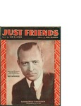 Just Friends / music by John Klenner; words by Sam M. Lewis by John Klenner, Sam M. Lewis, and Robbins Music Corporation (New York)