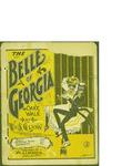 The Belle of Georgia cake walk / by Wm. S. Glynn by Wm. S. Glynn and Wm. J. Lefavour (New York)