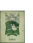 First Heart Throbs / words by Richard Eilenberg by Richard Eilenberg and DeLuxe Music Co. (New York)