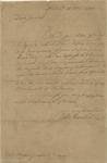 John Hancock to Nathanael Greene (15 November 1776) by John Hancock and Nathanael Greene