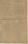 Resolution of the Senate of South Carolina (12 August 1783) by Francis Sharp