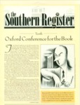 Southern Register. 2003.1 (Winter 2003) by University of Mississippi. Center for the Study of Southern Culture.
