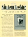 Southern Register. 2001.2 (Spring/Summer 2001) by University of Mississippi. Center for the Study of Southern Culture.