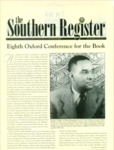 Southern Register. 2001.1 (Winter 2001) by University of Mississippi. Center for the Study of Southern Culture.