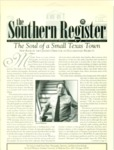 Southern Register. 2000.1 (Winter 2000) by University of Mississippi. Center for the Study of Southern Culture.