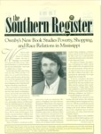 Southern Register. 1999.2 (Spring/Summer 1999) by University of Mississippi. Center for the Study of Southern Culture.