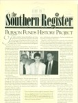 Southern Register. 1999.1 (Winter 1999) by University of Mississippi. Center for the Study of Southern Culture.