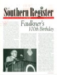 Southern Register. 1997.3 (Fall 1997) by University of Mississippi. Center for the Study of Southern Culture.