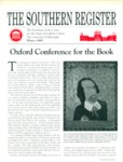 Southern Register. 1995.1 (Winter 1995) by University of Mississippi. Center for the Study of Southern Culture.