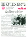 Southern Register. 1994.3 (Summer 1994) by University of Mississippi. Center for the Study of Southern Culture.