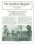 Southern Register. 1989.1 (Winter 1989)
