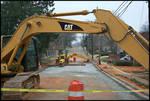 Public Utility Maintenance [University Avenue] by Robert Caldwell