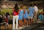 Sigma-Nu Charity Bowl [Vaught-Hemingway Stadium, University of Mississippi] by Jane Harrison Fisher