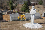 Football Grave [St. Peter's Cemetery] by Nelson Griffin