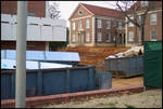 Construction [Bishop Hall, University of Mississippi] by Miranda Cully