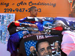 Obama T-Shirt Vendor by Catherine Servati