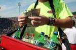 Soft Drink Vendor [Vaught-Hemingway Stadium] by Gray Young
