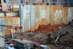 Graffiti at Construction Sight by Lee Taylor