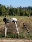 Rural Mailboxes by Blount Montgomery