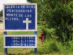 Church Sign in Spanish by Sarah Simonson