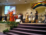 A Joyful Noise, Christ Missionary Baptist Church by Cathryn Stout