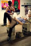 Smoke Break [JXN Haus Gallery] by Daniel Russell