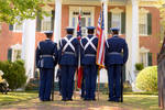 Color Guard [Holly Springs Pilgrimage] by Leslie Hassel