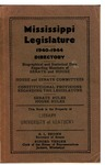 Hand book : biographical data of members of Senate and House, personnel of standing committees [1940] by Mississippi. Legislature