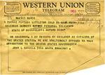 John L. Daniels to Governor Barnett, 28 September 1962 by John L. Daniels