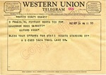 H. B. Cudd to Governor Ross Barnett, 29 September 1962 by H. B. Cudd