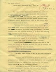 Annotated article by James Clayton sent to World Desk, Washington Post, 21 September 1962 by James Clayton