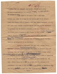Annotated page sent by James Clayton to World Desk, Washington Post, 22 September 1962 by James Clayton
