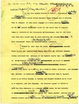 Annotated article by Dudley Morris, Ole Miss Motel sent to Parker, New York, Atlanta, 27 September 1962 by Dudley Morris