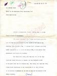 Robert Baker to The Washington Post, 28 September 1962 by Robert E. Baker
