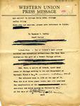 Raymond R. Coffey to Chicago Daily News, 28 September 1962 by Raymond R. Coffey