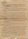 Annotated article by Joe Moore sent to Clarion Ledger, 25 Septmeber 1962 by Joe Moore