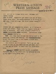 Annotated article by Coffey to Chicago Daily News, 30 September 1962 by Raymond R. Coffey