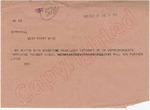 Gin [Virginia Bramlett] to Berryhill, 17 September 1962 by Virginia Bramlett