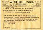 Dick Allen to Epsilon XI Chapter of Sigma Nu Fraternity, 19 September 1962 by Dick Allen