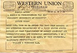 Dr. William H. Ferguson to President, University of Mississippi, 26 September 1962 by William H. Ferguson