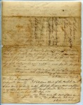 Deed of Gift, William Jones to Martha Thompson by William Jones