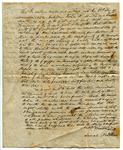 Land Deed, William Thompson to John & Sarah Martin by William Thompson