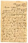 Letter, Jacob Thompson to William Thompson by Jacob Thompson