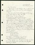 Miscellaneous family correspondence