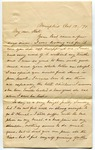 Letter, Catherine Thompson to Kate Thompson by Catherine Thompson